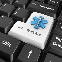 first aid keyboard