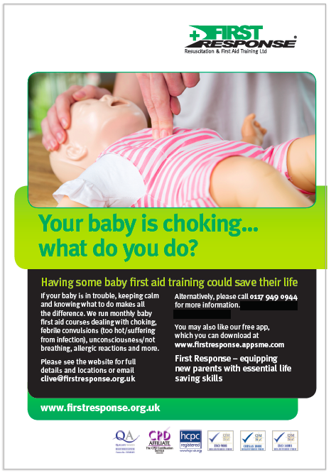 Baby First Aid Poster Thumbnail